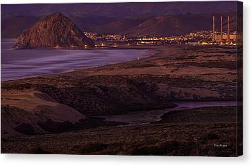 The Guardian--- Morro Bay Canvas Print