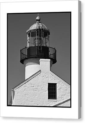 The Guardian To San Diego Bay Canvas Print by Kirt Tisdale