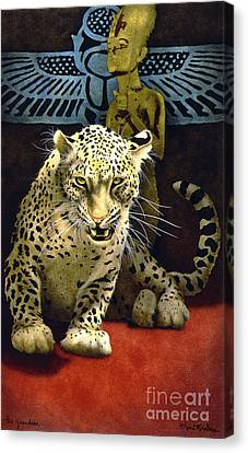The Guardian... Canvas Print by Will Bullas