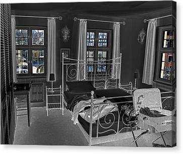 The Guest House Canvas Print by Robert Culver