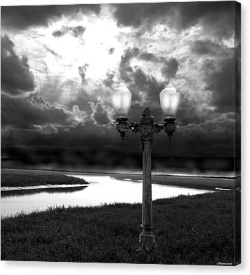 The Guiding Light Canvas Print by Larry Butterworth