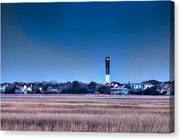 The Guiding Light Canvas Print by Walt  Baker