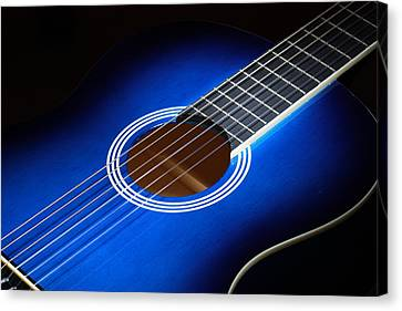 Canvas Print featuring the photograph The Guitar by Keith Hawley