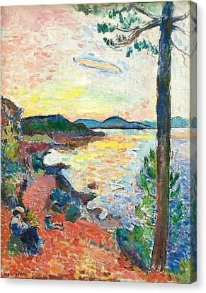 The Gulf Of Saint Tropez Canvas Print