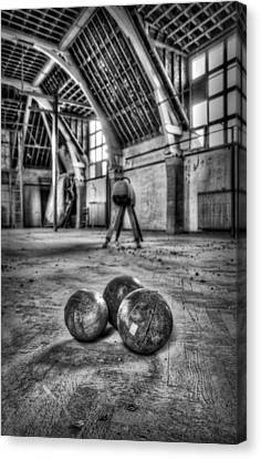 The Gym Canvas Print by Jason Green