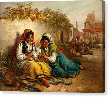 The Gypsies Canvas Print