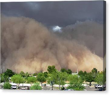 The Haboob Is Coming Canvas Print