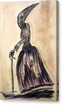 The Hag Canvas Print by Mimulux patricia no No