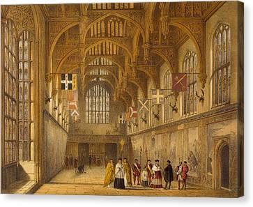 The Hall, Hampton Court, C.1600 Canvas Print