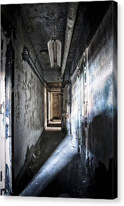 The Hallway Canvas Print by Jessica Berlin