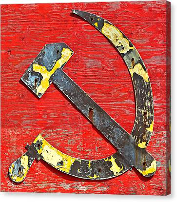 The Hammer And Sickle Canvas Print