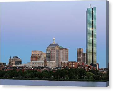 The Hancock And Boston Canvas Print by Juergen Roth