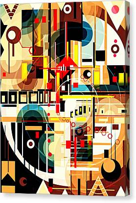 The Hannya Canvas Print by Mikko Tyllinen