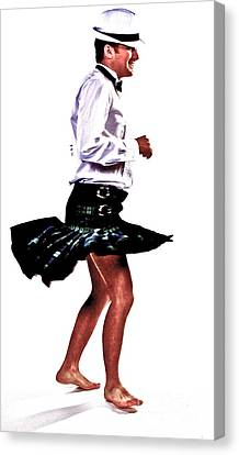The Happy Dance Canvas Print by Xn Tyler