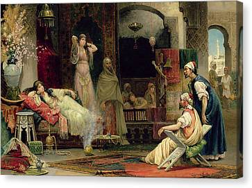 The Harem Canvas Print by Juan Gimenez y Martin