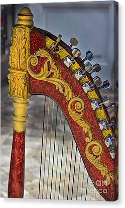 The Harp Canvas Print by Al Bourassa