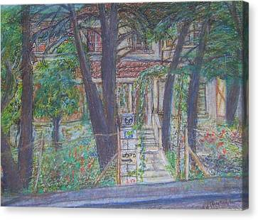 The Haunted House In Talpiot Jerusalem Canvas Print