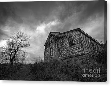 The Haunted Canvas Print by Michael Ver Sprill