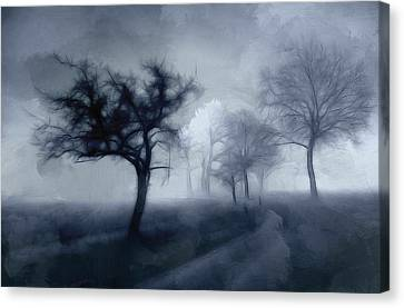 The Haunted Road Canvas Print by Steve K