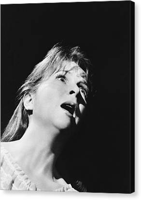 1963 Movies Canvas Print - The Haunting, Julie Harris, 1963 by Everett