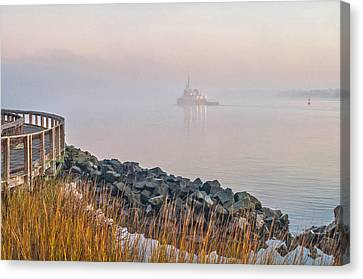 Canvas Print - The Haze by Donnie Smith