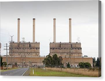 The Hazelwood Coal Fired Power Station Canvas Print