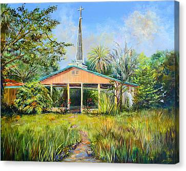 The Healing Chapel Canvas Print