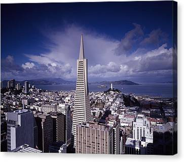 The Heart Of San Francisco Canvas Print by Mountain Dreams