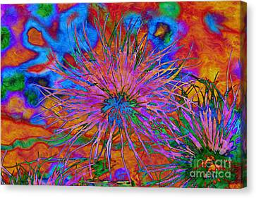 The Heart Of The Matter.. Canvas Print
