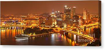 The Heart Of The Three Rivers Canvas Print by Adam Jewell