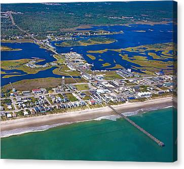 The Heart Of Topsail Canvas Print by Betsy Knapp