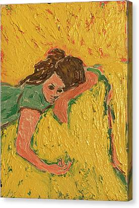 The Heartache Canvas Print by Clarence Major