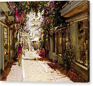 The Heat Of Andalusia Canvas Print by Oleg Trofimoff