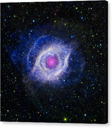 Astronomy Canvas Print - The Helix Nebula by Adam Romanowicz