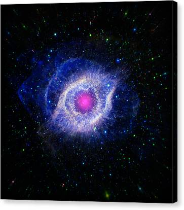 The Helix Nebula  Canvas Print