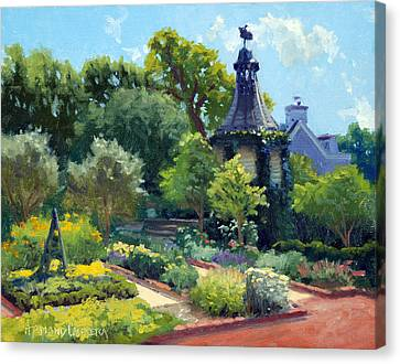 Patrick Canvas Print - The Herb Garden by Armand Cabrera