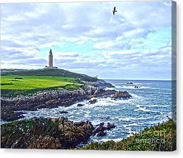 The Hercules Tower Canvas Print