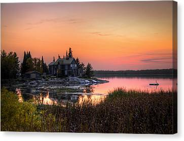 The Hide Away Canvas Print