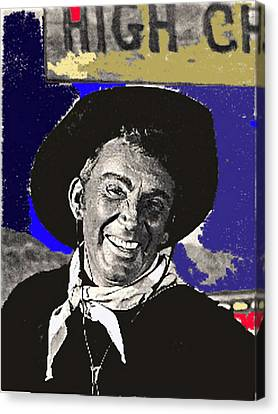 The High Chaparral Cameron Mitchell Publicity Photo Number 1 Canvas Print