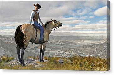 The High Country Canvas Print by Jayne Wilson