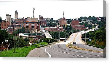 The Hill City Lynchburg Va Canvas Print