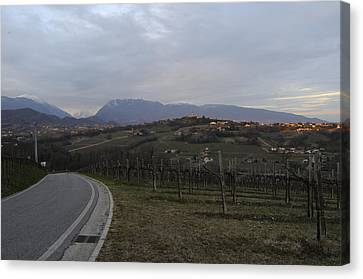 The Hills Of The Wine Canvas Print by Salvatore Gabrielli