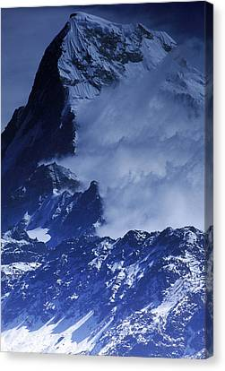 The Himalayas Canvas Print by Anonymous