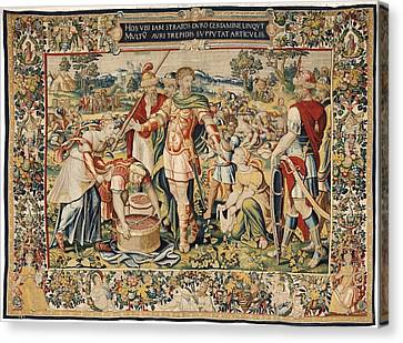 The History Of Hannibal The Plunder Canvas Print by Everett