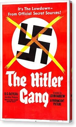 The Hitler Gang, Us Poster, 1944 Canvas Print