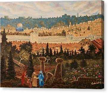 The Holy City Canvas Print