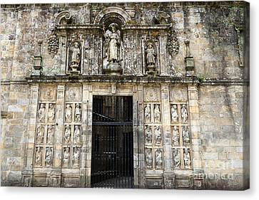 The Holy Door Canvas Print by James Brunker