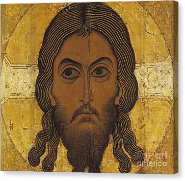 The Holy Face Canvas Print by Novgorod School