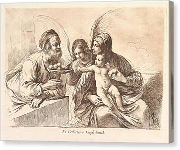 The Holy Family, The Christ Child Canvas Print