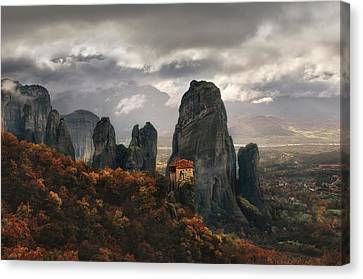Shed Canvas Print - The Holy Rocks by